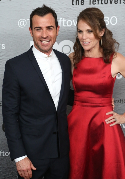 Justin Theroux and Amy Brenneman Photo