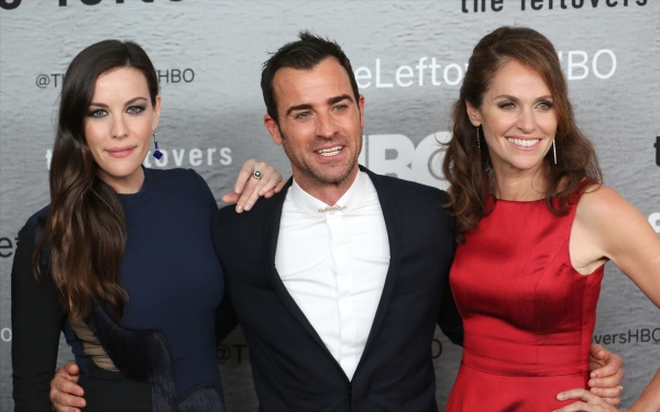 Liv Tyler, Justin Theroux and Amy Brenneman