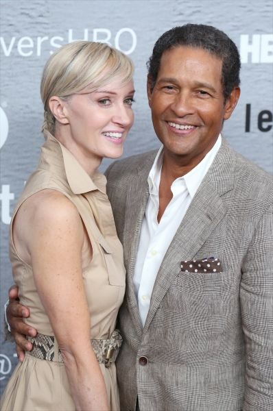 Hillary Quinlan and Bryant Gumbel