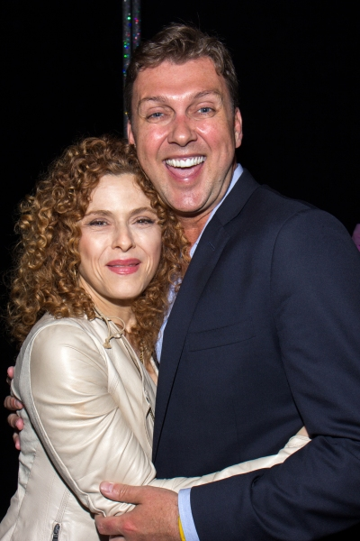 Bernadette Peters, Warren Carlyle
