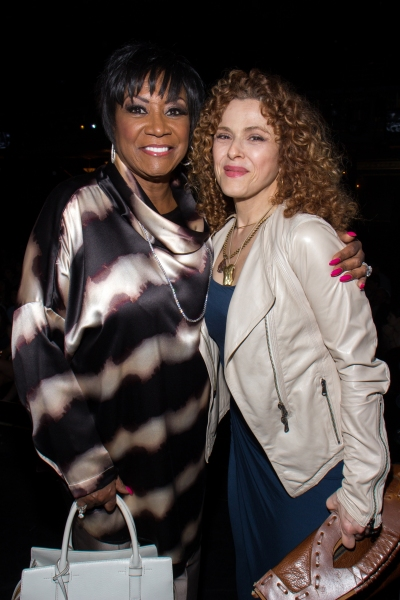Patti LaBelle, Bernadette Peters