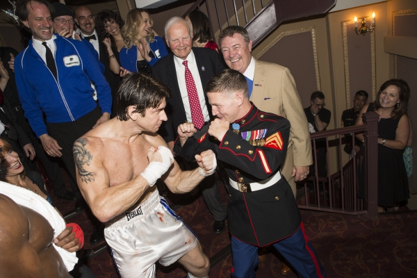 Photo Coverage: Medal of Honor Recipient Corporal Kyle Carpenter Visits ROCKY