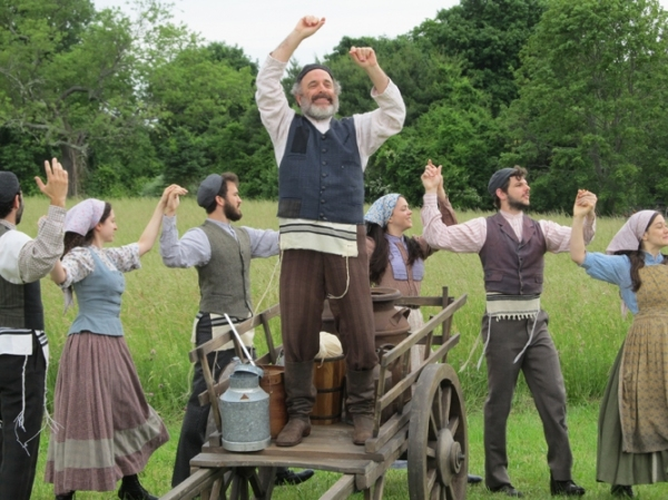 Photo Flash: Sneak Peek at Adam Heller and the Cast of Goodspeed's FIDDLER ON THE ROOF