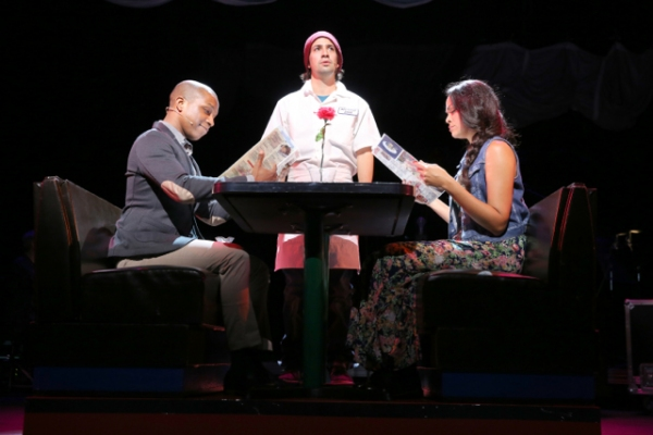 Photo Flash: First Look at Lin-Manuel Miranda, Leslie Odom Jr. and Karen Olivo in Encores! TICK, TICK... BOOM!