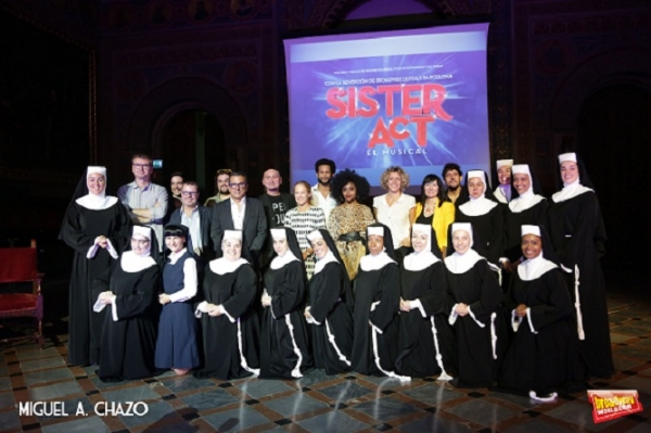 Photo Flash: Presentación de la compañía de 'Sister Act' en Barcelona