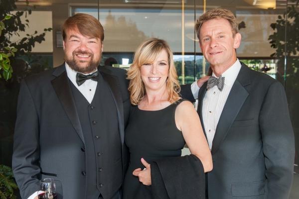 Entrepeneur Peter Sawyer, Michele Huertas of Tiffany & Co., George Huertas of Merrill Lynch