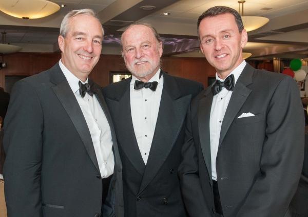 Honoree Ray Rothrock, TheatreWorks Artistic Director Robert Kelley, Honoree Andrew Lippa