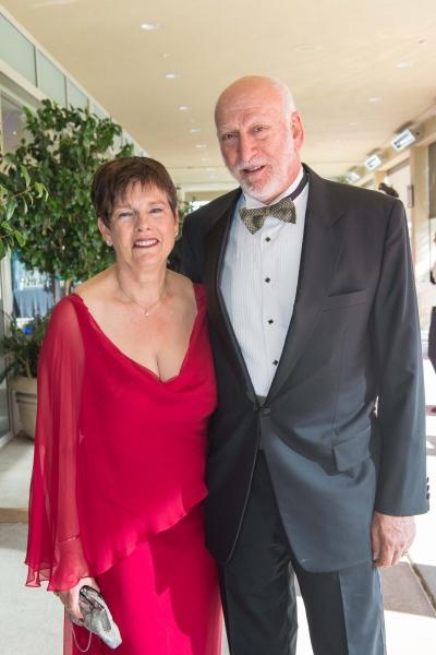 TheatreWorks Trustee Nancy Ginsberg Stern and Rick Stern