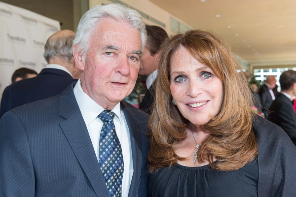 Mark Lewis and TheatreWorks Trustee Barbara Shapiro
