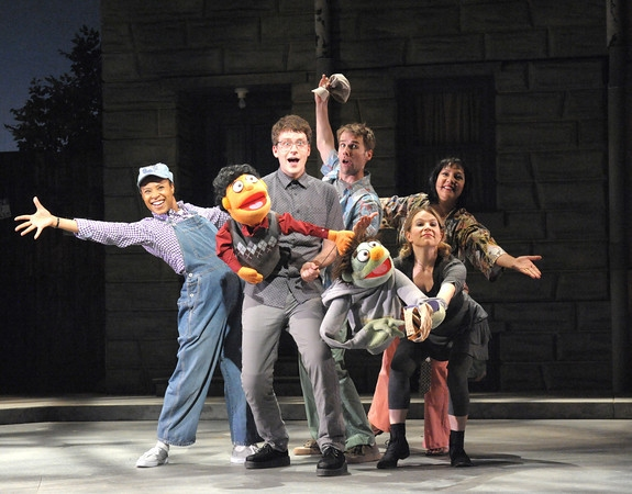 Photo Flash: First Look at Sam Ludwig, Rachel Zampelli & The Cast of Olney Theatre Center's AVENUE Q