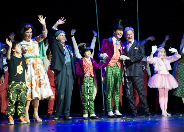 Photo Flash: Alex Jennings, Ben Forster, and More Celebrate West End's CHARLIE AND THE CHOCOLATE FACTORY's One Year Anniversary