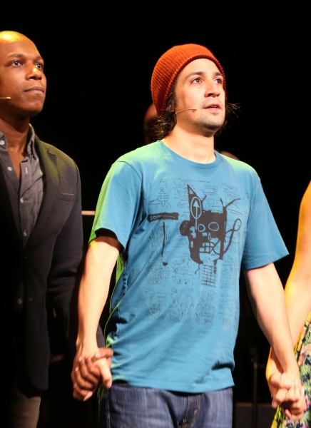 Photo Coverage: Lin-Manuel Miranda, Leslie Odom Jr. and Karen Olivo Take Opening Night Bows in TICK, TICK... BOOM!