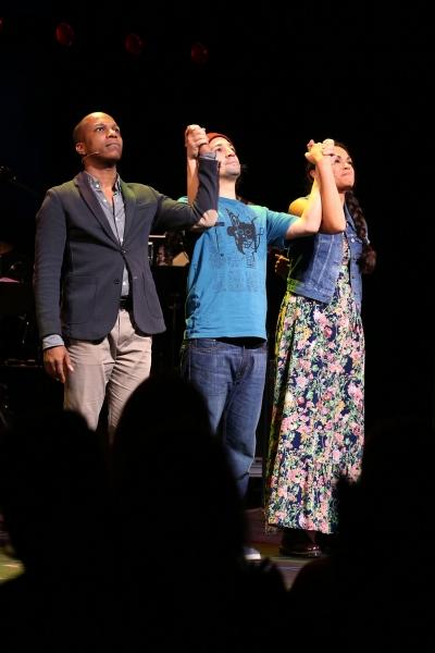 Photo Coverage: Lin-Manuel Miranda, Leslie Odom Jr. and Karen Olivo Take Opening Night Bows in TICK, TICK... BOOM!