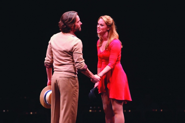 Eric Sciotto (Zach) and Kate Levering (Cassie)