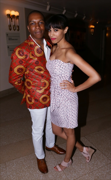 Leslie Odom Jr. and wife Nicolette Robinson