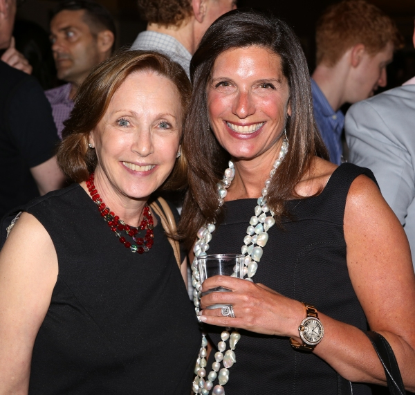 Arlene Shuler, President & CEO of New York City Center and Stacey Mindich, Board Co-Chair