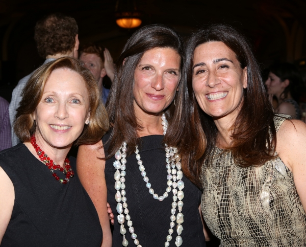 Arlene Shuler, President & CEO of New York City Center and Stacey Mindich, Board Co-Chair with Jeanine Tesori
