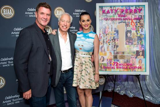 Katy Perry Crowned Top Certified Digital Artist Ever!