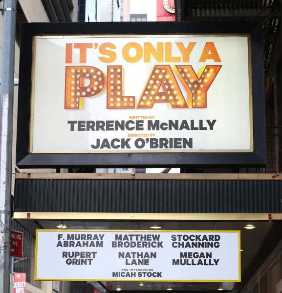 Up on the Marquee: IT'S ONLY A PLAY