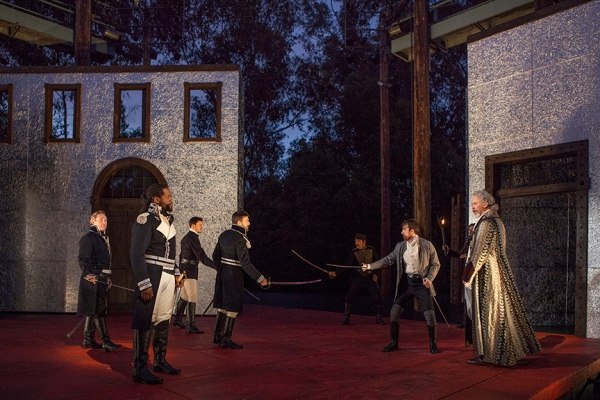 Photo Flash: First Look at Blair Underwood, Richard Thomas, Kristen Connolly and More in the Old Globe's OTHELLO
