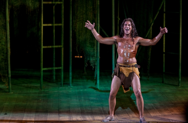 Photo Flash: First Look at Nicholas Rodriguez, Kate Rockwell, Quentin Earl Darrington & More in TARZAN at the Muny!