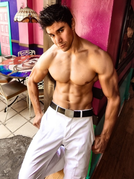 Photo Flash: CHICO'S ANGELS Welcomes New Hottie Duke Shoman