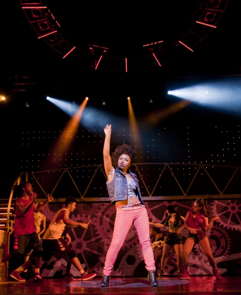 Photo Flash: Cleo Higgins Makes Her West End Debut in THRILLER LIVE