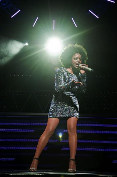 Photo Flash: Cleo Higgins Makes Her West End Debut in THRILLER LIVE