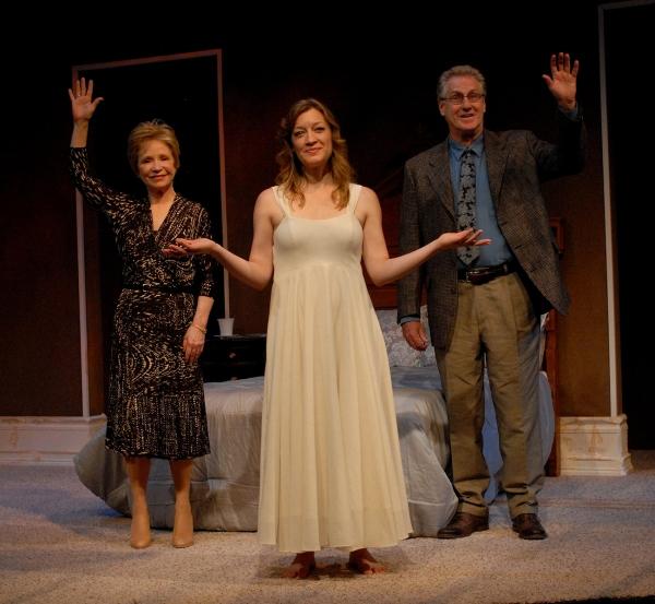Debra Jo Rupp (Lilian), Kim Stauffer (June), and Paul O'Brien (Nathan)