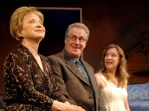 Debra Jo Rupp (Lilian), Paul O'Brien (Nathan) and Kim Stauffer (June)