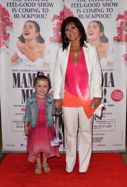 Photo Flash: Cast of MAMMA MIA! International Tour Celebrates Blackpool Gala Night
