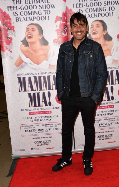 Photo Flash: Cast of MAMMA MIA! International Tour Celebrates Blackpool Gala Night
