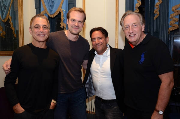 Tony Danza, David Harbour, Eugene Pack, Alan Zweibel