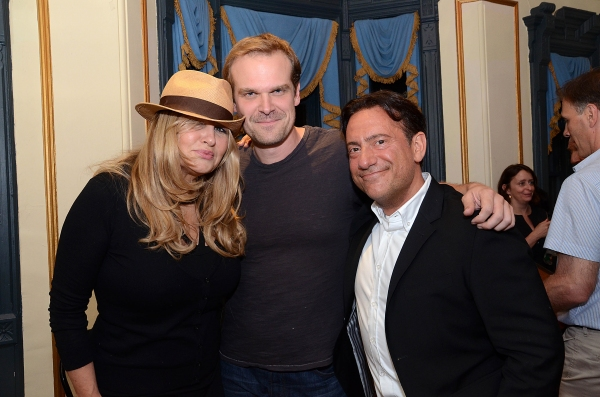 Jennifer Coolidge, David Harbour, Eugene Pack