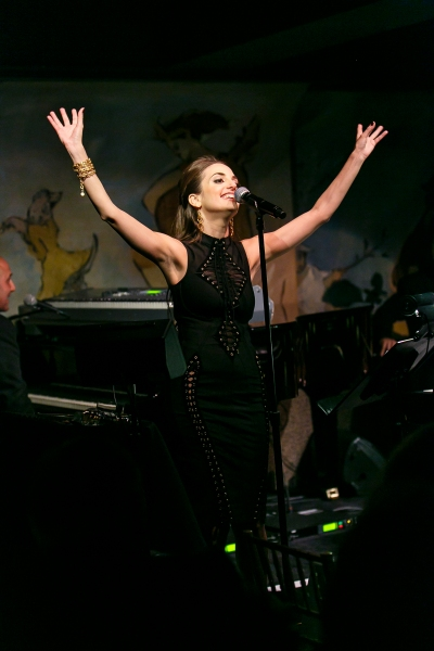 Photo Flash: Alexa Ray Joel Returns to Cafe Carlyle