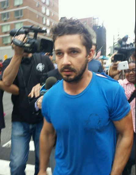 Breaking News: Shia LaBeouf Escorted Out of CABARET in Handcuffs