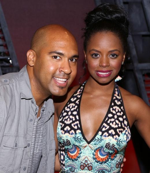 Josh Tower and Krystal Joy Brown Photo
