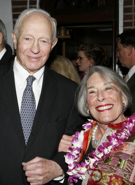 Mary Rodgers Guettel  & Husband Henry Guettel attending the ''South Pacific'' Opening Photo