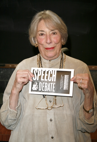 Mary Rodgers Guettel at the Opening Night of the Roundabout Theatre Company''s Production of SPEECH & DEBATE at the Black Box Theatre in New York City. October 29, 2007 at the Opening Night of the Roundabout Theatre Company''s Production of SPEECH & DEBAT