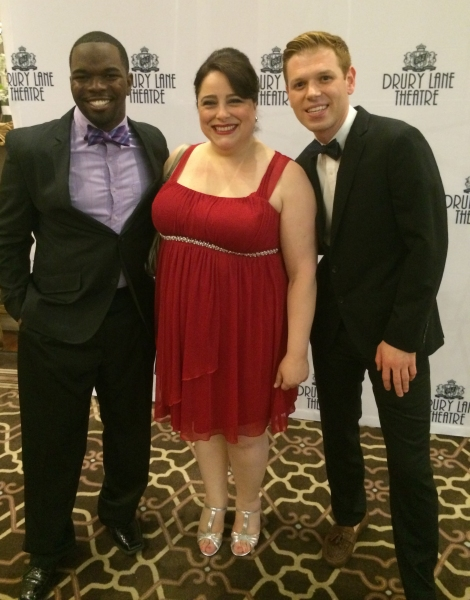 Jonathan Butler-Duplessis, Frances Limoncelli and Zach Colonna Photo