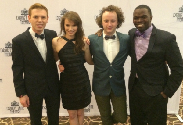Zach Colonna, Carolyn Braver, Eli Branson and Jonathan Butler-Duplessis