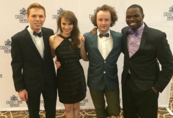 Zach Colonna, Carolyn Braver, Eli Branson and Jonathan Butler-Duplessis Photo