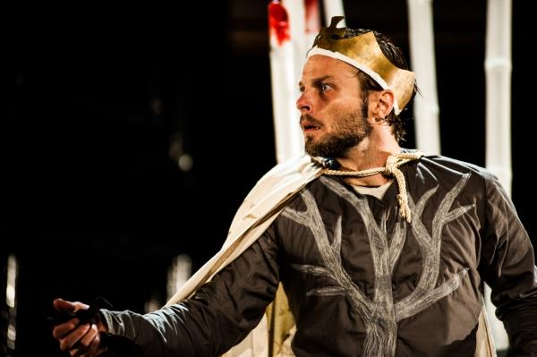 David Hywel Baynes as King Richard III