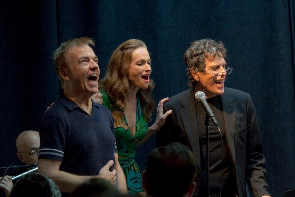 David Arthur, Jessica Burrows Van Kipp, Jonathan perform River Liffey Photo