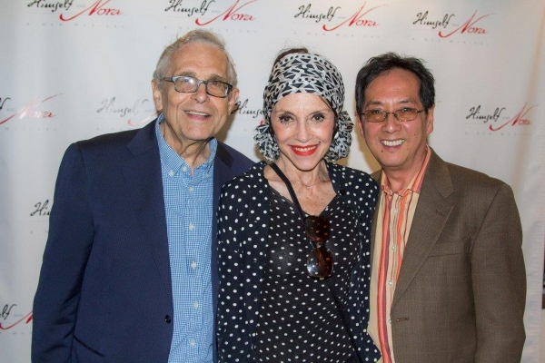 Tony Award winning director Richard Maltby, Jr, Liliane Montevecchi, John Yap