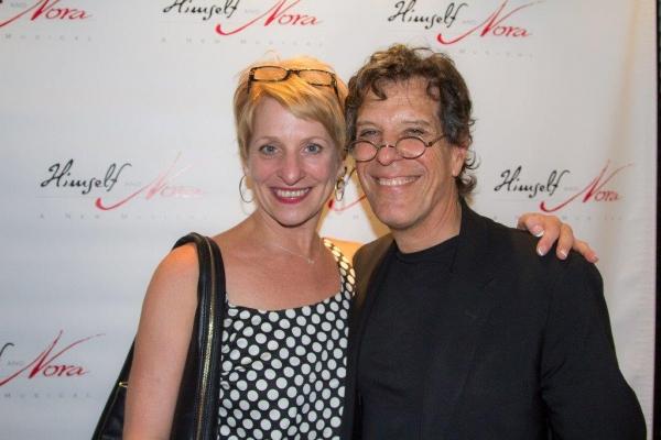 Choreographer Kelli Barclay and Jonathan Brielle