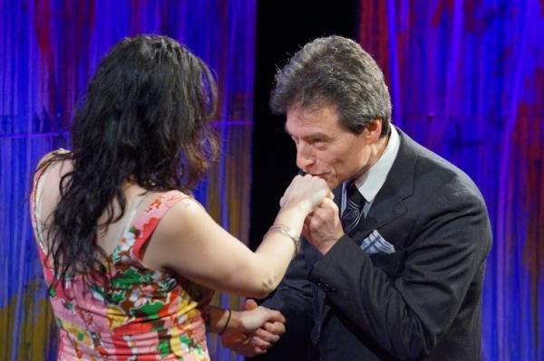 Najla Said & John Blaylock Photo