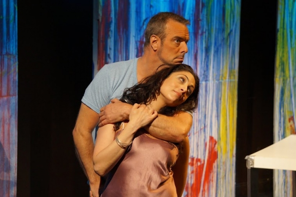 Pete Macnamara & Najla Said Photo