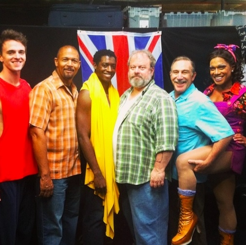 Photo Flash: Saturday Intermission Pics, June 28- ROCKY, BULLETS, KINKY BOOTS, WICKED, and More Celebrate Pride