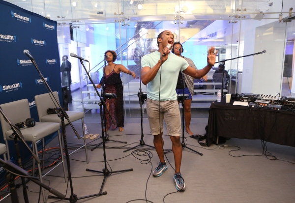 Photo Coverage: Inside Soundcheck for MIGHTY REAL Live at Sirius XM Radio